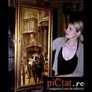 Decorativ Paintings - In City Oil painting www.pictat.ro  by Preda Bianca