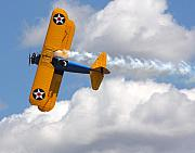 Stearman Originals - In Flight by Delano Dave Boman