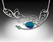 Handcrafted Jewelry - In Flight.... by Jeanne  Rhodes-Moen
