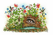 In Hiding Print by Donna Genovese
