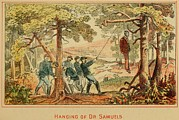 Guerilla Prints - In June 1862 Federal Soldiers Hang Dr Print by Everett