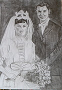 Brian Hustead - In-Laws Wedding Day 1961