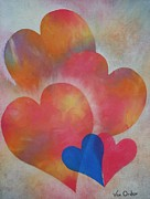 Hearts Pastels - In Love by Richard Van Order
