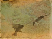 Little Birds Prints - In Motion Print by Gothicolors And Crows