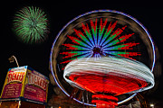 State Fair Photo Prints - In Motion Print by Susan Candelario