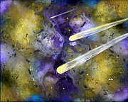 Outer Space Prints - In My Dreams Unrestrained II Print by EJ Lefavour