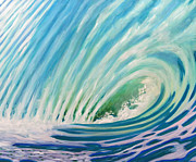Ocean Wave Painting Framed Prints - In My Heart Framed Print by Brian  Commerford