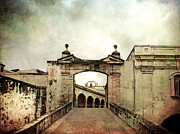 Historic Fortress Digital Art Prints - In Old San Juan Print by Julie Palencia