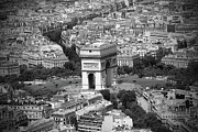 Freelance Photographer Photo Prints - In Paris BW Print by Kamil Swiatek