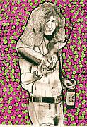 Robert Plant Drawings - In Plants Palm by Jason Kasper