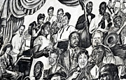 Celebration Art Print Digital Art Prints - In Praise of Jazz III Print by Steve Harrington