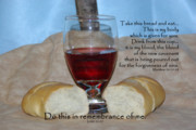 Jesus Christ Last Supper Photos - In Remembrance of Me 2 by Robyn Stacey