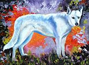 Shepherd Art - In Shepherd Heaven by Susan A Becker