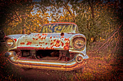 Car Photographs Art - In the backwoods by Toni Hopper