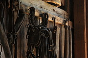 Antiquated Digital Art Posters - In the Barn Poster by Lyle Hatch