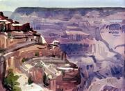 Canyon Paintings - In the Canyon by Donald Maier