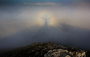 Brocken Prints - In the center of the Rainbow Print by Fernando Alvarez