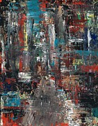In The City Print by Frances Marino