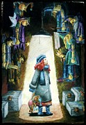 In The Closet Of The Puppeteer Print by Yagmur Telorman