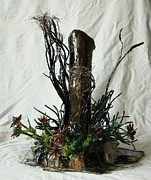 Landscapes Sculpture Originals - In the Ditch by Mariann Taubensee