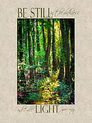 Inspire Metal Prints - In The Forest with Words Metal Print by Jai Johnson