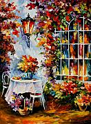 In The Garden Print by Leonid Afremov