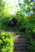In The Garden Print by Teresa Mucha