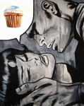 Cupcake Art Posters - In the Heat of the Moment Poster by Ryan Jones