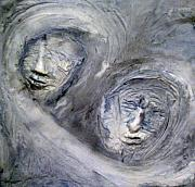 Portraits Reliefs - In the Ice Storm by Kime Einhorn