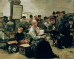 Waiting Room Paintings - In the Land of Promise by Charles Frederic Ulrich