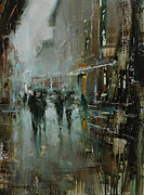 Raining Paintings - In the Light by Tibor Nagy