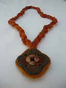 Decorative Jewelry - In the Name of the Sun IV by Diana Corcan