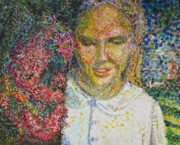 Pointillist Originals - In the Park by Catherine Lawhon