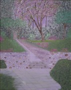 Nature Walks Paintings - In the Park by Gregory Davis