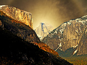 Yosemite Village Prints - In The Presence Of God Print by Wingsdomain Art and Photography