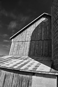 Minnesota Homestead Framed Prints - In the Shadow of the Silo Framed Print by Guy Whiteley