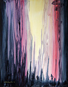 Couples Paintings - In The Shadows by Kristine Plum