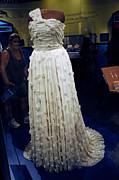 Inaugural Gown On Display Print by LeeAnn McLaneGoetz McLaneGoetzStudioLLCcom