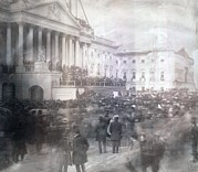Inauguration Photos - Inauguration Of James Buchanan by Everett