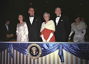 Lady Washington Posters - Inauguration Of Lyndon Johnson. Lady Poster by Everett
