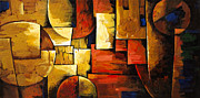 Photography Painting Originals - Inception of Abstract by Uma Devi