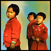 Korea Digital Art Prints - Inchon Kids of 54 Print by Dale Stillman