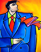 Colorful Drawings - Incognito Original Pop Art by Tom Fedro - Fidostudio