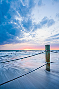 St Petersburg Florida Metal Prints - Incoming Tide Metal Print by Adam Pender