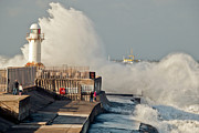 Tees Photos - Incoming tide South Gare by Gary Eason