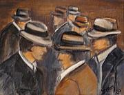 Chapeaux Paintings - Incontri by Patty Meotti