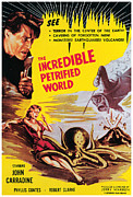 1959 Movies Framed Prints - Incredible Petrified World, The, John Framed Print by Everett