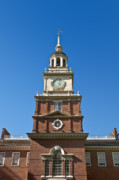 Independence Park Framed Prints - Independence Hall Framed Print by John Greim