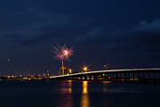 Florida Bridge Photo Originals - Independence on the River by Nicholas Evans