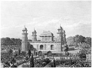 Raj Framed Prints - India: Agra, Tomb Framed Print by Granger
